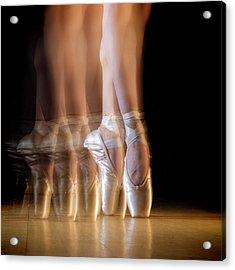 Ballet Acrylic Print by Howard Ashton-jones