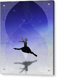 Ballet In Solitude  Acrylic Print by Bedros Awak