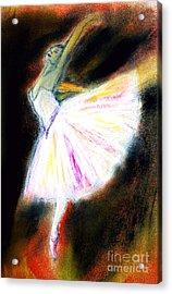 Ballet Acrylic Print by Michael Cross