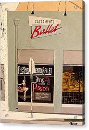 Ballet On K Acrylic Print by Paul Guyer