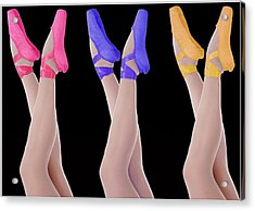 Ballet Shoes Acrylic Print by Stephen Norris