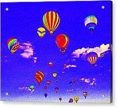 Ballon Race Acrylic Print