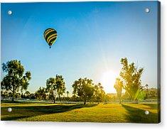 Balloon At Sunset Acrylic Print