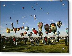 Balloon Fest Acrylic Print