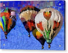 Balloon Fiesta Acrylic Print by Georgi Dimitrov