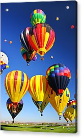 Balloon Grouping Acrylic Print by Joe Myeress
