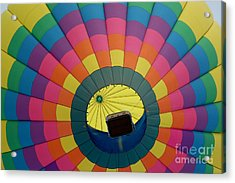 Balloon Lift-off  Acrylic Print