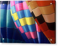 Acrylic Print featuring the photograph Balloon Patterns by Rodney Lee Williams