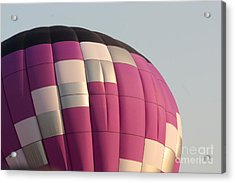 Balloon-purple-7457 Acrylic Print by Gary Gingrich Galleries