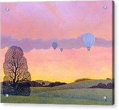 Balloon Race Acrylic Print
