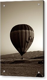 Balloon2 Acrylic Print by Ernesto Cinquepalmi