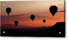 Balloons Acrylic Print by Engin Karci