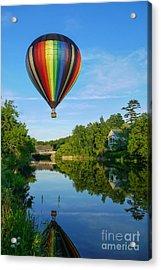 Balloons Over Quechee Vermont Acrylic Print