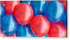 Balloons Acrylic Print by Tom Gowanlock