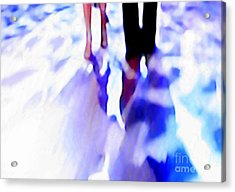 Ballroom Dance Floor Abstract 12 Acrylic Print