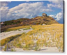 Acrylic Print featuring the photograph Ballston Beach Dunes by Constantine Gregory