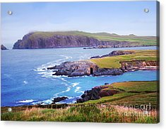Ballyferriter Co. Kerry Ireland Acrylic Print by Jo Collins