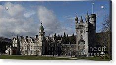 Balmoral Castle In A Closeup Panorama Acrylic Print
