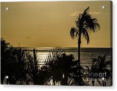 Balmy Beach Acrylic Print