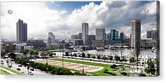 Baltimore Maryland Acrylic Print by Olivier Le Queinec