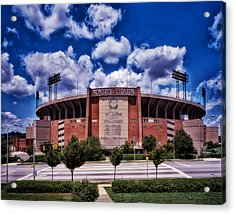 Baltimore Memorial Stadium 1960s Acrylic Print by Mountain Dreams