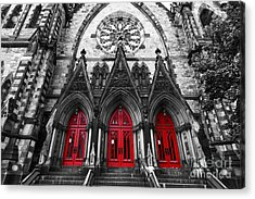Baltimore Mount Vernon United Methodist Church Acrylic Print