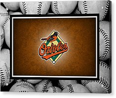 Baltimore Orioles Acrylic Print