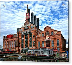Baltimore Power Plant Acrylic Print by Olivier Le Queinec