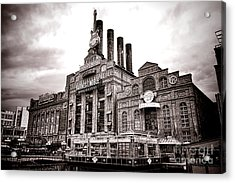 Baltimore United Railways And Electric Company Acrylic Print