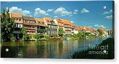 Bamberg Little Venice 1 Acrylic Print