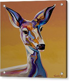 Acrylic Print featuring the painting Bambi by Bob Coonts