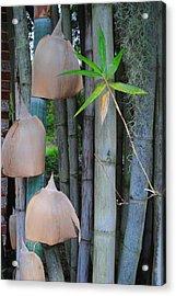 Bamboo Bells Acrylic Print