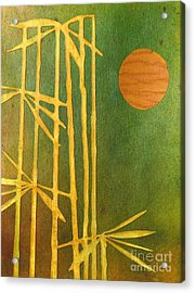 Bamboo Moon Acrylic Print