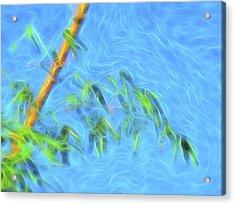Bamboo Wind 1 Acrylic Print