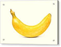 Banana Acrylic Print by David Blank