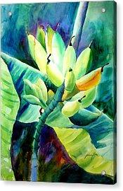 Bananas 6-12-06 Julianne Felton Acrylic Print
