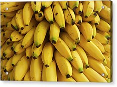 Bananas At The Saturday Market, San Acrylic Print by William Sutton