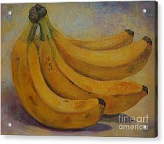 Bananas Acrylic Print by Jana Baker