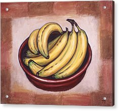 Bananas Acrylic Print by Linda Mears