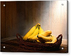 Bananas Acrylic Print by Olivier Le Queinec