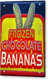 Bananas Acrylic Print by Skip Willits