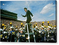 Band Director Acrylic Print by James L. Amos