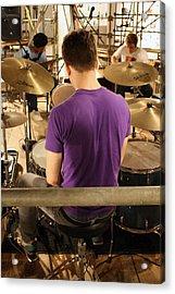 Band Practice Acrylic Print by Ismael Cavazos