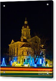 Bandera County Courthouse Acrylic Print