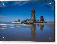 Bandon Oregon Sea Stacks Acrylic Print
