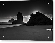 Bandon State Park Acrylic Print by Jean-Jacques Thebault
