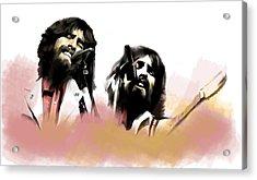 Bangladesh  George Harrison Acrylic Print