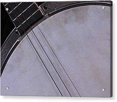 Banjo Abstract Acrylic Print by Kay Sparks