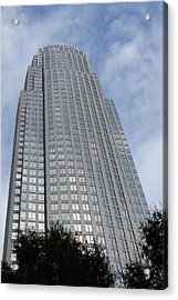 Bank Of America Acrylic Print by B Wayne Mullins