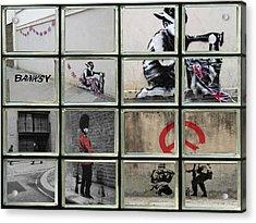 Banksy Street Art Acrylic Print